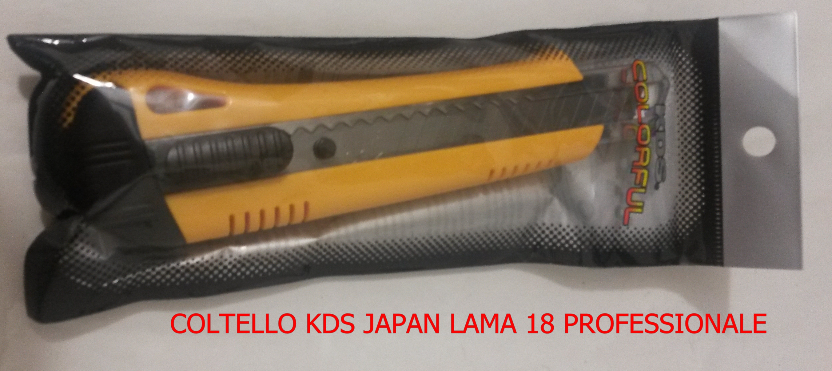 COLTELLO KDS JAPAN LAMA 18